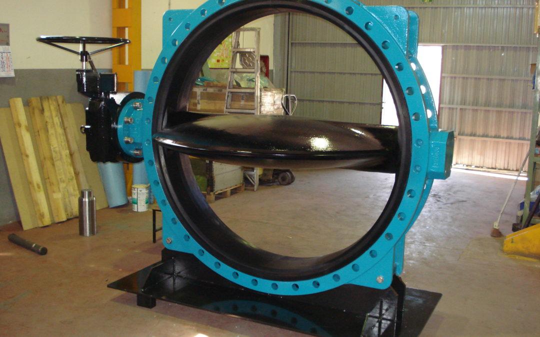 Interapp ha presentado su nueva válvula de diámetro 1600 en Achema 2009