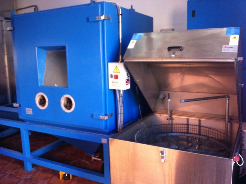 Nueva instalación para el tratado de partes metálicas en la fabricación de Caucho-Metal