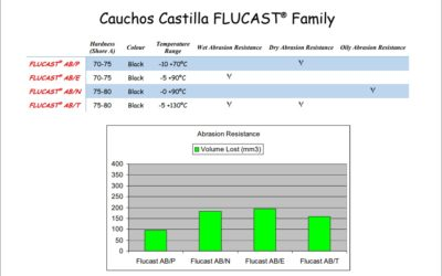 FLUCAST AB/T, New blend for abrasive products at high temperatures